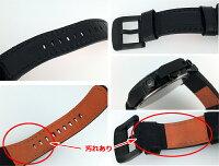 【】AngelClover/エンジェルクローバーTIMECRAFT(タイムクラフト)腕時計NTC48ブラック×ブラッククォーツ革(レザー)ベルト10P03Dec16