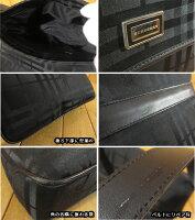 【中古】BURBERRY/バーバリーショルダーバッグカラー:ブラック