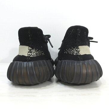 【中古】adidas Originals by KANYE WEST|アディダスオリジナルス バイ カニエウェスト BY1604 YEEZY BOOST 350 V2 イージーブースト350 V2 サイズ:25.5cm カラー:CBLACK/CWHITE/CBLACK【f126】