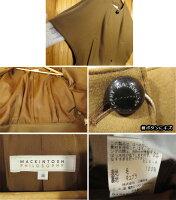 【中古】MACKINTOSHPHILOSOPHY/マッキントッシュフィロソフィーノーカラーポンチョサイズ:38カラー:ブラウン系