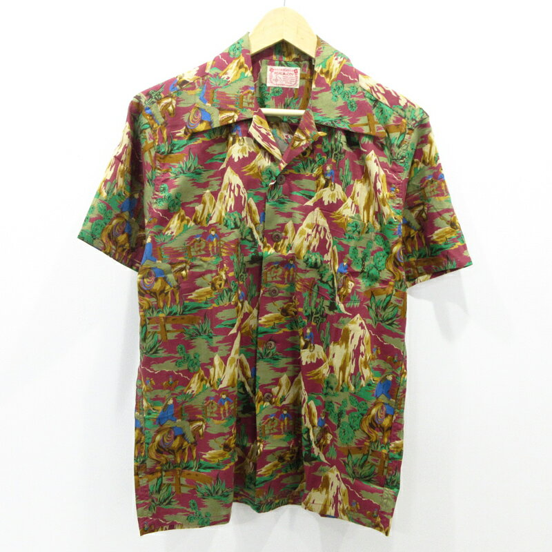 トップス, カジュアルシャツ THE REAL McCOYS HAWAIIAN SHIRT MH-S811 M - f101