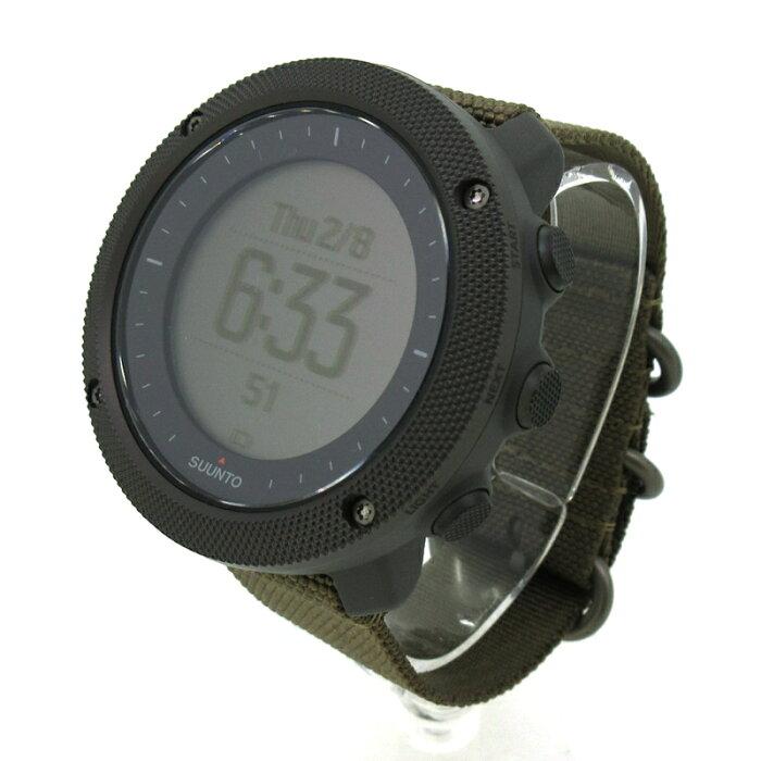 【中古】SUUNTO/スント Traverse Alpha Foliage 腕時計 【f131】