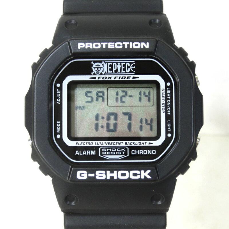 腕時計, メンズ腕時計 CASIOONE PIECE DW-5600VT G-SHOCK MUGIWARA PIRATES MODEL - () () f131