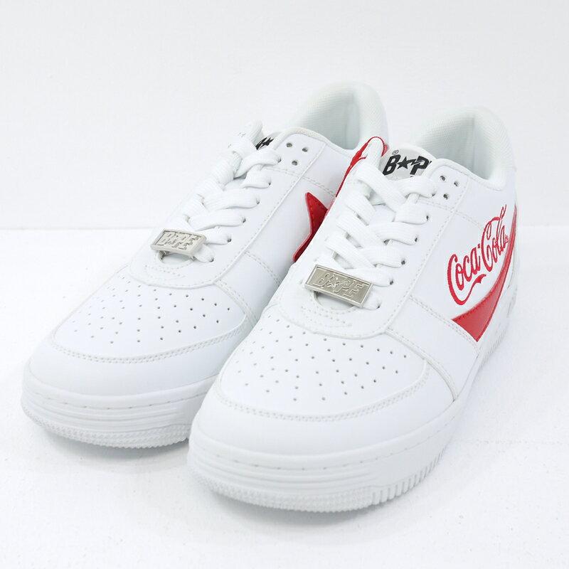 メンズ靴, スニーカー A BATHING APECOCA COLA BAPE STA LOW 26.5cmf126