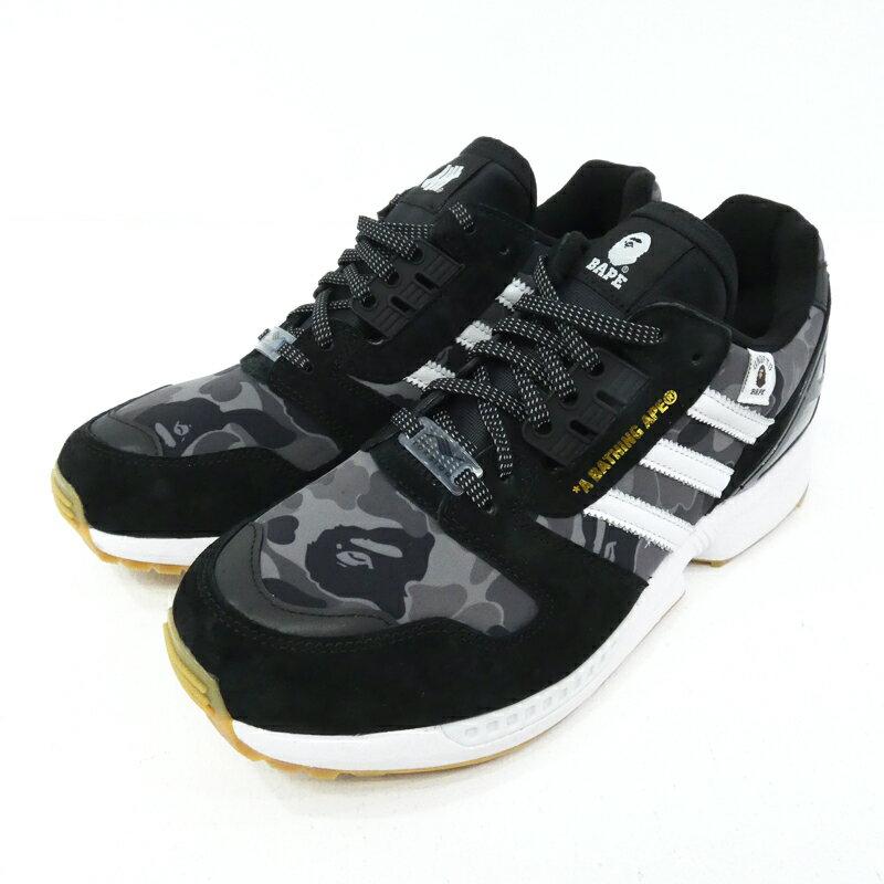メンズ靴, スニーカー adidas Originals BAPEUNDEFEATED ZX 8000 A-ZX FY8852 27.0cmf126