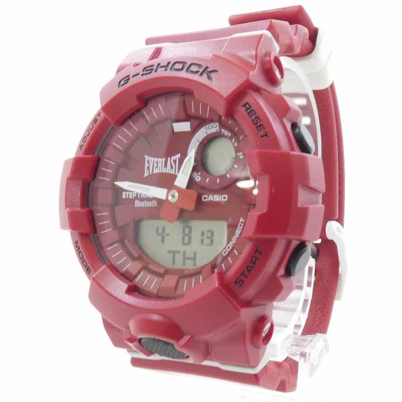 腕時計, メンズ腕時計 CASIOG-SQUAD EVERLAST G-SHOCK G GBA-800EL-4AJR f131