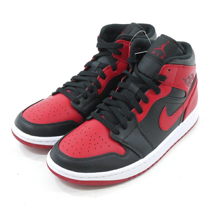 メンズ靴, スニーカー NIKE AIR JORDAN 1 MID BRED 1 554724-074 26.0cmf126