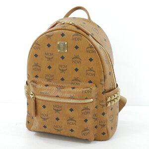 [二手] MCM | MCM MMK6SVE37背包帆布背包棕色, 尺寸:-[f122]