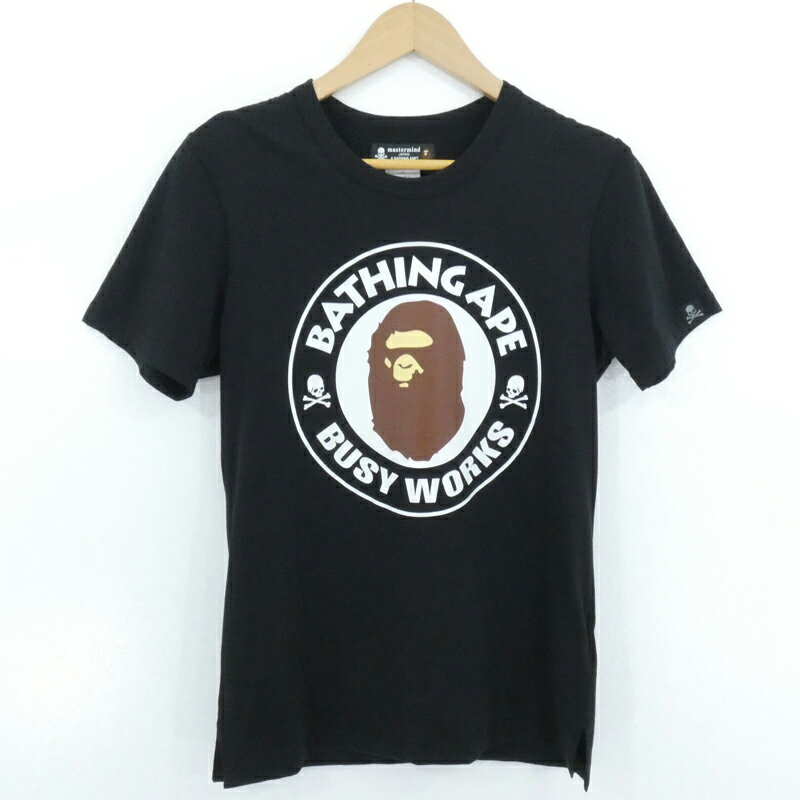 トップス, Tシャツ・カットソー A BATHING APEmastermind JAPAN BUSY WORKS TEE T XSf110