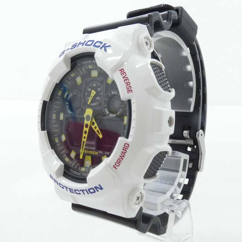 腕時計, メンズ腕時計 CASIO G-SHOCK G GA-100CS Crazy Colors f131