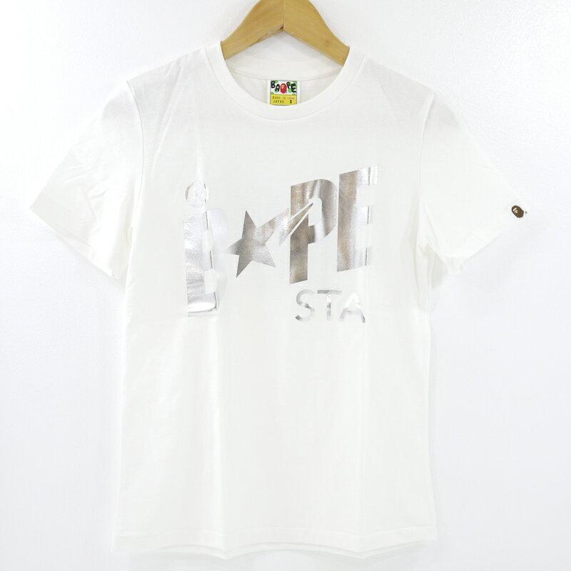 トップス, Tシャツ・カットソー A BATHING APE BAPE STA FOIL TEE T S f110