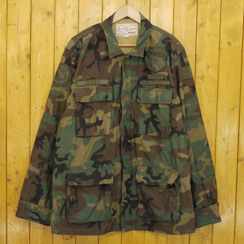 メンズファッション, コート・ジャケット AVIREX BACK SATIN BDU JACKET 2XL f093