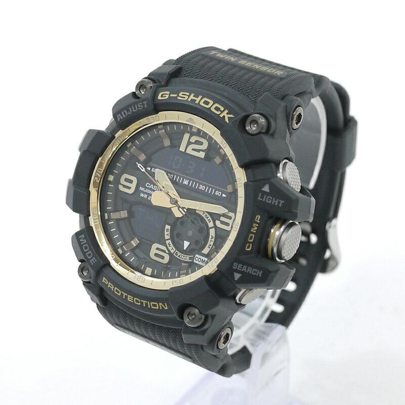 腕時計, メンズ腕時計 CASIO G-SHOCKG MUDMASTER Vintage Black Gold GG-1000GB-1AER - f131