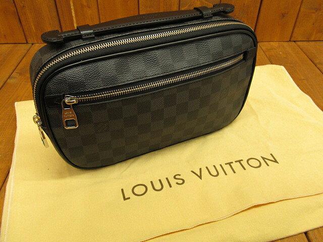 【中古】LOUIS VUITTON/ルイ ヴィトン  N41289 ダミエ・グラフィット アンブレールボディバッグ・ウエストバッグ:お宝市番館