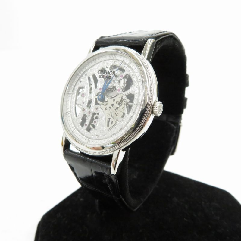 腕時計, メンズ腕時計 SEIKO CREDOR Pt950Ref.GBBD987 ()()f132
