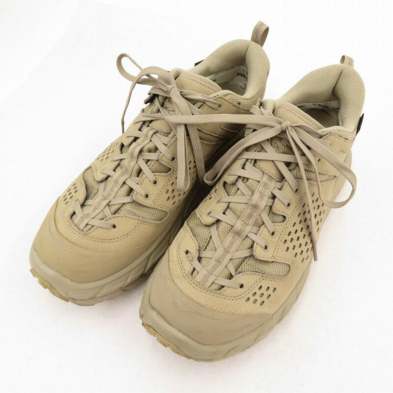 メンズ靴, スニーカー HOKA ONEONEENGINEERED GARMENTS Tor Ultra Low EG Taupe 1102502 28.5cmf126