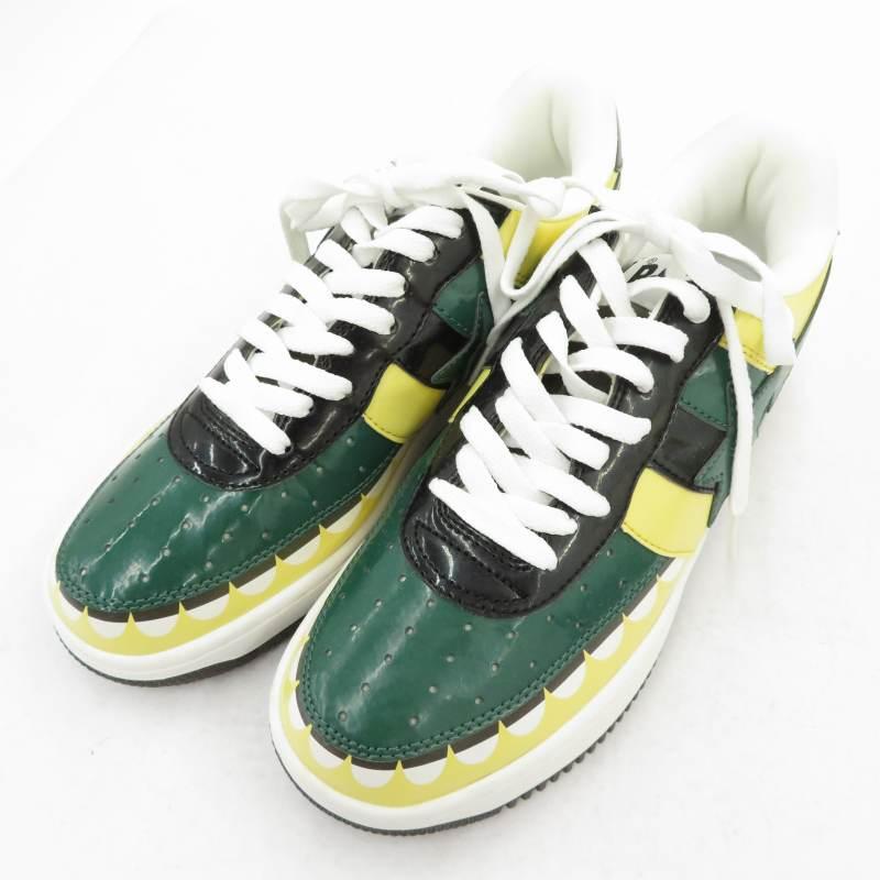 メンズ靴, スニーカー 518()18:0010OFFSALEA BATHING APEKAWS BAPESTA GREEN2006FS-029 27.0cmf126