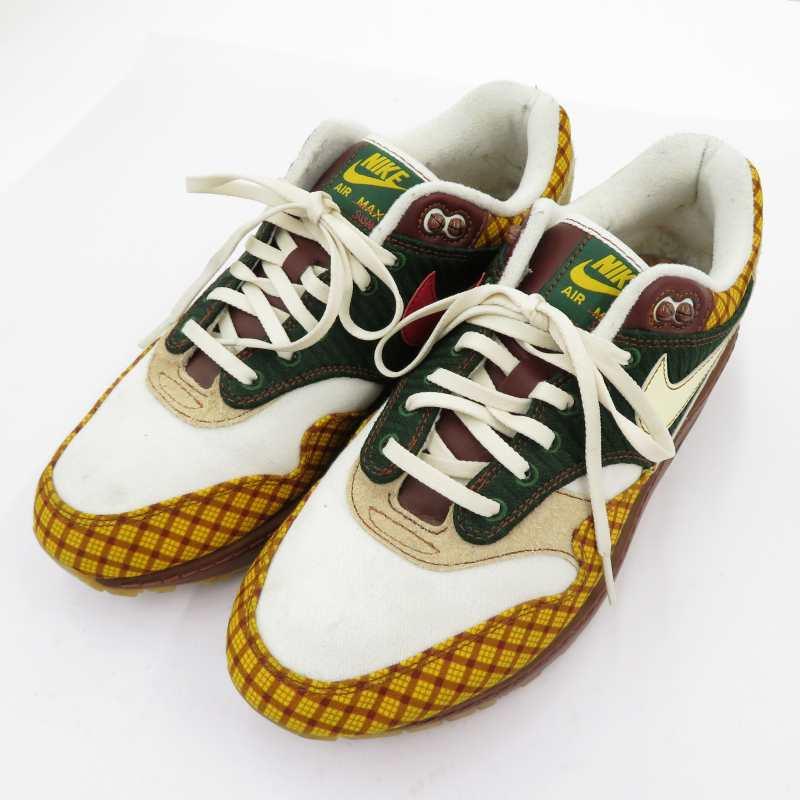 メンズ靴, スニーカー NIKEMISSING LINK AIR MAX 1 SUSAN 1 CK6643-100 27.0cmf126