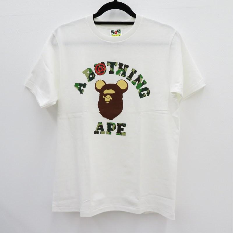 トップス, Tシャツ・カットソー A BATHING APE BERBRICK TEE 6 T M f103