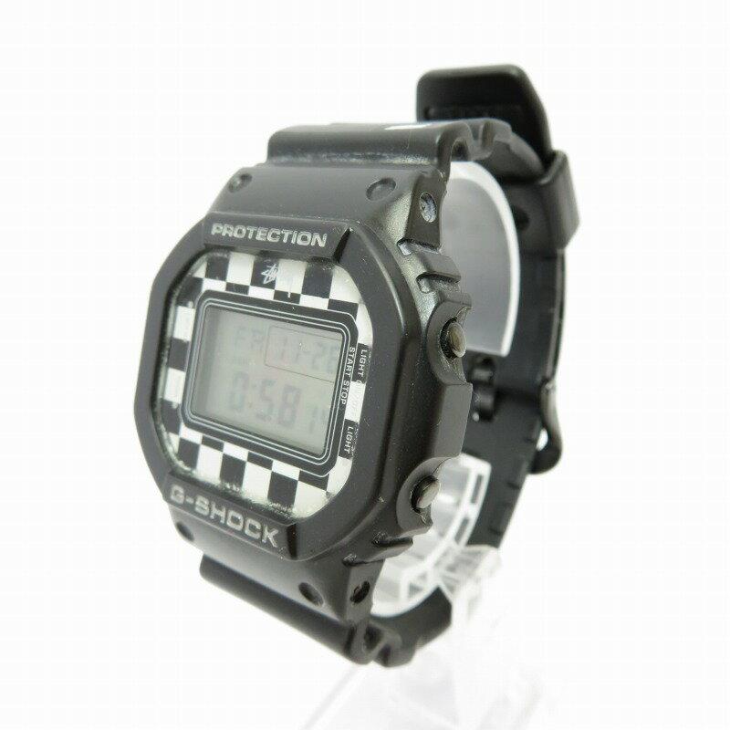 腕時計, メンズ腕時計 CASIO G-SHOCK STUSSY DW-5600VT ()f131