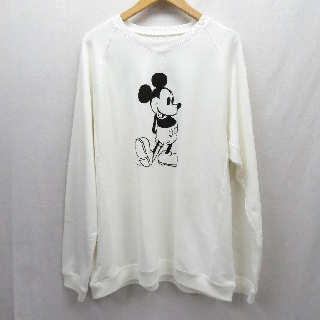 トップス, スウェット・トレーナー TAKAHIRO MIYASHITA TheSoloist 20SSoversized Mickey Mouse crew neck sweatshirt 44 f104