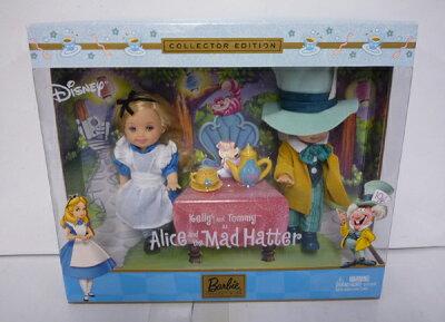 【送料無料】【バービー/Barbie】Kelly and Tommy as Alice and the Mad Hatterケリー&トミー ...