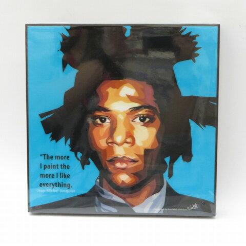 【新古品】Jean-Michel Basquiat/ジャン=ミシェル・バスキアアートフレ—ム/パネル【雑貨】
