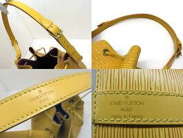 LOUISVUITTONルイヴィトンエピプチノエショルダーバッグ巾着バッグタッシリイエローM44109