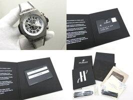 【日本限定モデル】HUBLOTウブロビッグバンウニコブラック&ホワイト自動巻メンズ腕時計411.NE.2010.LR.JSM15