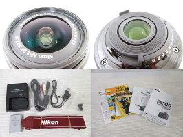 NikonニコンD550018-55VRIIkit/レンズキットデジタル一眼レフレリーズ141回/wi-fi搭載RED※中古