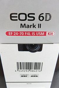 Canonキャノンデジタル一眼レフカメラEOS6DMarkIIEF24-70LISUSMレンズキット※未使用