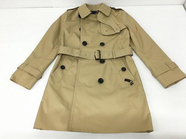 レディースファッション, コート・ジャケット COACH LEOPARD TRENCH F33868 Classic Khaki XSP