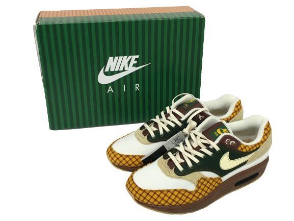 メンズ靴, スニーカー NIKE AIR MAX 1 SUSAN MISSING LINK SAILALABASTER-COSMICBONSAI CK6643-100 27cm