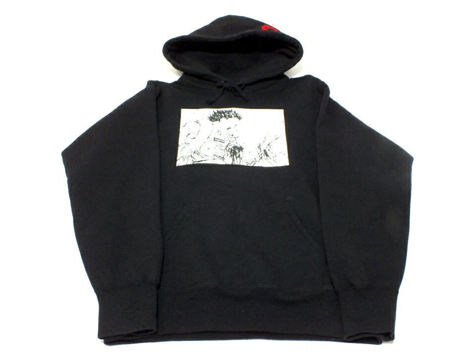 トップス, パーカー SupremeAKIRA Arm Hooded Sweatshirt 17AW