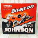 Snap-on 1/9スケール スティーブ・ジョンソン モデルカー モーターサイクル バイク【中古】58H03404431 ホビー 模型 ミニカー