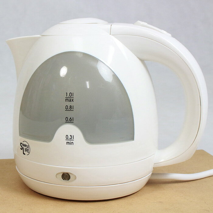 ケトル 電気ケトル 1.0L 90秒で沸かせる! 900W おしゃれ オフィス シンプル 電気 デザイン 湯沸しランプ やかん ヤカン 瞬間湯沸かし器 湯わかし器 電気ポット コードレス 送料無料 お宝プライス###電気ケトルWK-29###