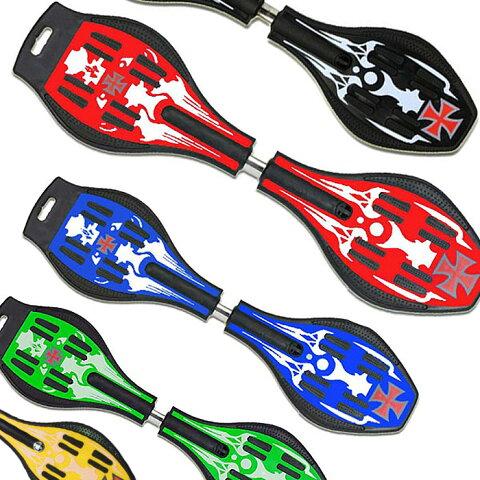 エスボード ESSBoard キャスターボード 新感覚スケボー スケートボード 光るタイヤ キックボード ハードタイヤ 子供用 送料無料 お宝プライス ###キャスターボード###