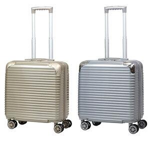 スーツケース 鏡面 プロテクト付 キャリーケース 30L 機内持込み TSAロック ダブルキャスター オシャレ 軽量 丈夫 送料無料/###ケースAB-8018###