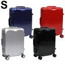 スーツケース Sサイズ アルミフレーム キャリーケース 軽量 TSAロック 35L 1〜3日 オシャレ 丈夫 トラベルケース 送料無料 お宝プライス/###ケースDH101-S###
