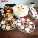 フードドライヤー 新型 食品乾燥機 レシピ付き 食品乾燥器 ドライフルーツ ドライフルーツメーカー  ...