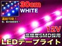 テープライト 防水 LED 30cm SMD連結 【送料無料】###テープ50-30CM☆###