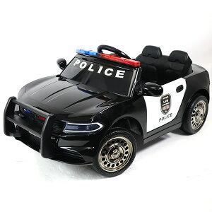 電動乗用パトカー電動乗用カーアメリカンポリスパトカー乗用玩具子供用充電式ライト点灯ハンドマイク付きおしゃれかっこいいかわいい送料無料###乗用カーBJC666###