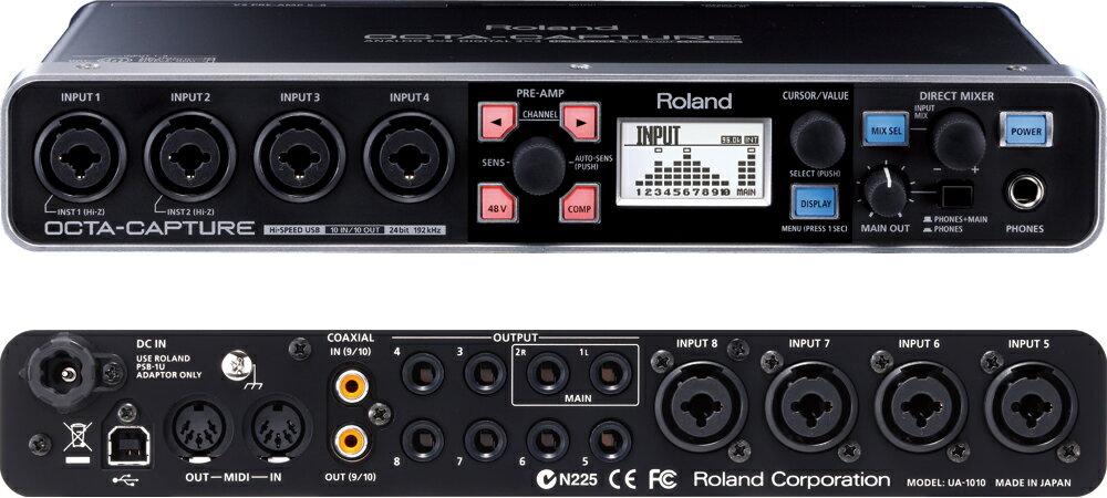 DAW・DTM・レコーダー, オーディオインターフェイス ROLAND OCTA-CAPTURE UA-1010smtb-msRCPzn