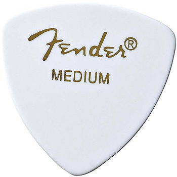 ピック12枚セット FenderCLASSICPICKS346SHAPEMediumWhiteフェンダー・ピック・ミディアム