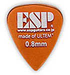 アクセサリー・パーツ, ピック 5ESP PT-PSU08 Orange Tear Drop ULTEM Pick 0.8mm