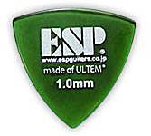 アクセサリー・パーツ, ピック 5ESP PD-PSU10 Green Triangle ULTEM Pick 1.0mmsmtb-msRCPzn