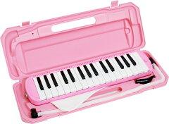 【即日発送O.K】キョーリツコーポレーション 鍵盤ハーモニカメロディーピアノ 32鍵盤 ピンク...