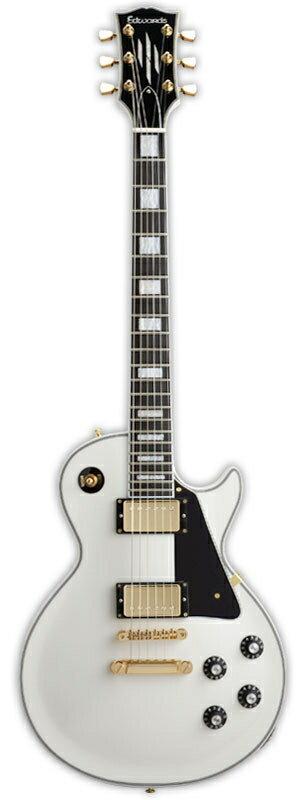 ギター, エレキギター EDWARDS E-LP-130CD White smtb-msRCPzn