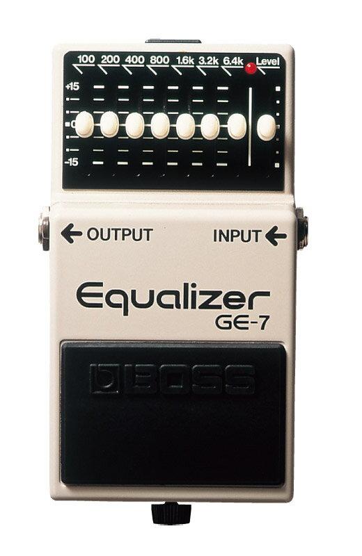 ギター用アクセサリー・パーツ, エフェクター BOSS Equalizer GE-7 smtb-msRCPzn
