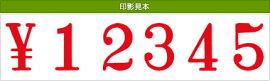 テクノタッチ回転印欧文6連(明朝体)初号